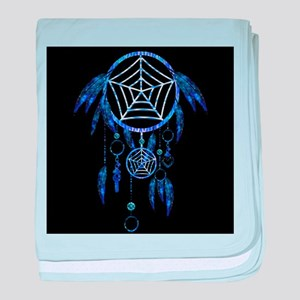 Glowing Dreamcatcher baby blanket