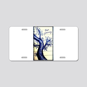 The tree of life Aluminum License Plate