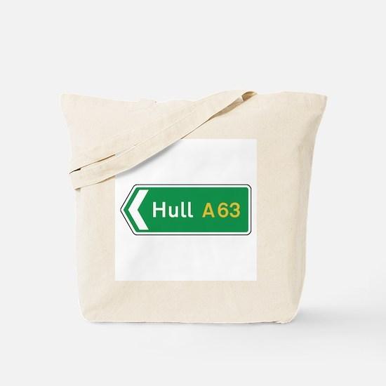 Hull Roadmarker, UK Tote Bag