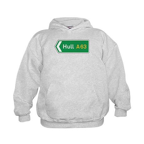 Hull Roadmarker, UK Kids Hoodie