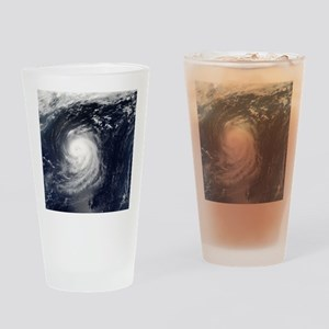 HURRICANE IRENE Drinking Glass