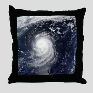 HURRICANE IRENE Throw Pillow