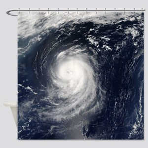 HURRICANE IRENE Shower Curtain