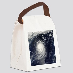 HURRICANE IRENE Canvas Lunch Bag