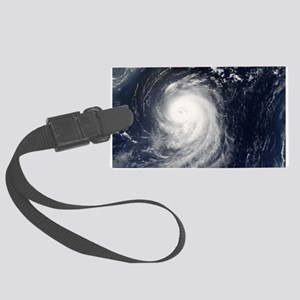 HURRICANE IRENE Large Luggage Tag