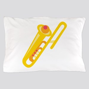 Trombone Pillow Case