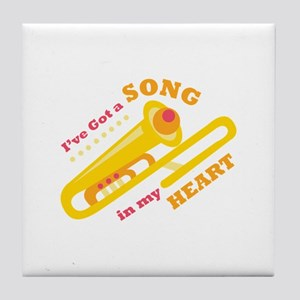 Ive Got A Song Tile Coaster