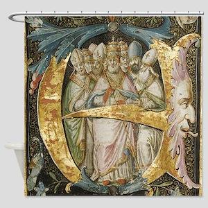 Book of Kells Shower Curtain