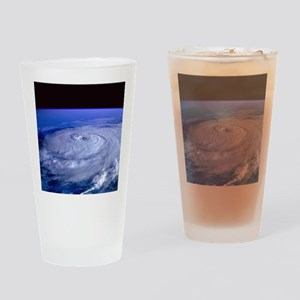 HURRICANE ELENA Drinking Glass