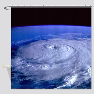 HURRICANE ELENA Shower Curtain