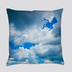 CUMULUS CLOUDS Everyday Pillow