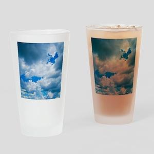 CUMULUS CLOUDS Drinking Glass