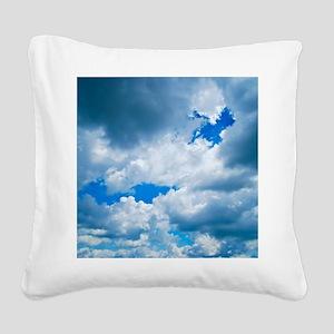 CUMULUS CLOUDS Square Canvas Pillow