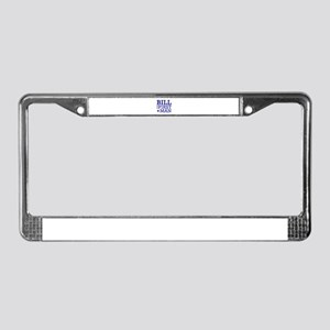 Bill for First Man License Plate Frame