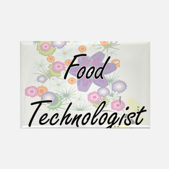 Food Technologist Artistic Job Design with Magnets