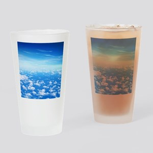 CLOUDS Drinking Glass