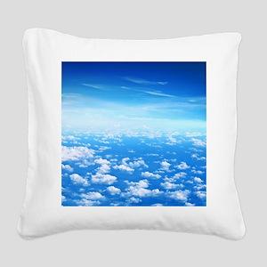 CLOUDS Square Canvas Pillow