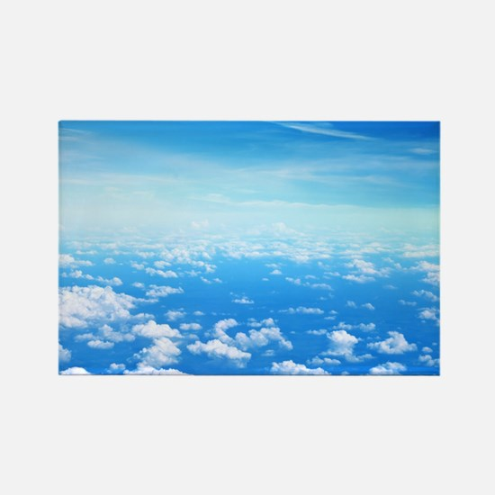 CLOUDS Rectangle Magnet