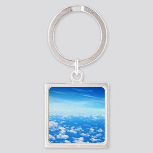 CLOUDS Square Keychain