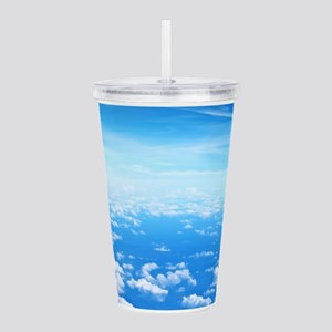 CLOUDS Acrylic Double-wall Tumbler