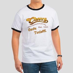 Carla Tortelli and Cheers Logo T-Shirt