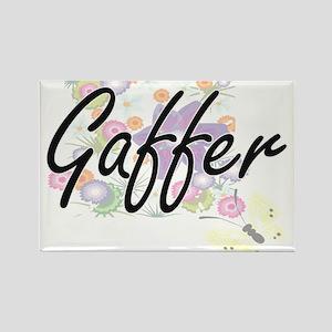 Gaffer Artistic Job Design with Flowers Magnets