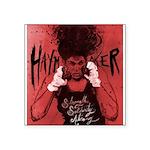 Haymaker By Crabapple Red Sticker