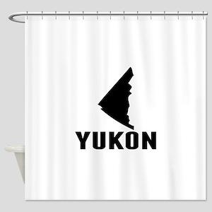 Yukon Silhouette Shower Curtain