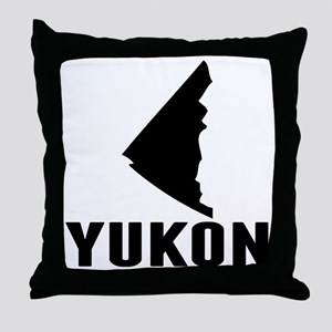 Yukon Silhouette Throw Pillow