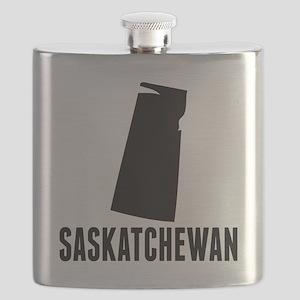 Saskatchewan Silhouette Flask