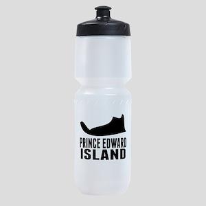 Prince Edward Island Silhouette Sports Bottle
