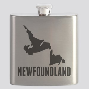 Newfoundland Silhouette Flask