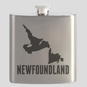 Newfoundland Silhouette Flask