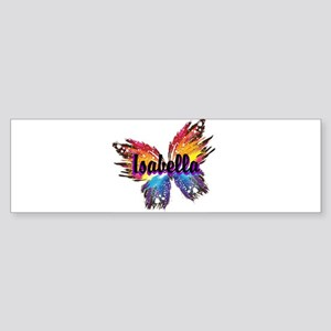 Personalize Butterfly Bumper Sticker