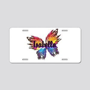 Personalize Butterfly Aluminum License Plate