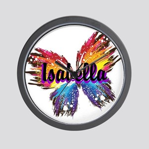 Personalize Butterfly Wall Clock