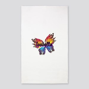 Personalize Butterfly Area Rug