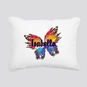 Personalize Butterfly Rectangular Canvas Pillow