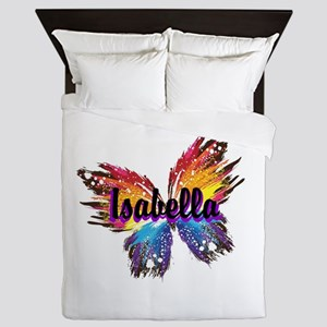 Personalize Butterfly Queen Duvet