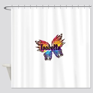 Personalize Butterfly Shower Curtain