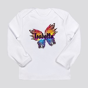 Personalize Butterfly Long Sleeve T-Shirt