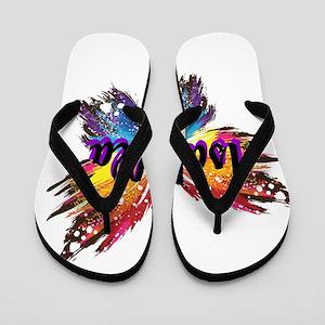 Personalize Butterfly Flip Flops