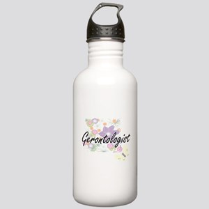 Gerontologist Artistic Stainless Water Bottle 1.0L