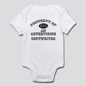 Property of an Advertising Copywriter Infant Bodys