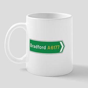 Bradford Roadmarker, UK Mug