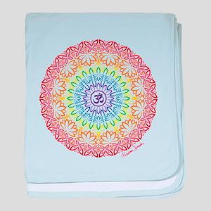 Namaste Mandala baby blanket