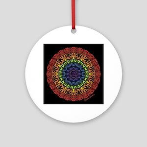 Namaste Mandala Round Ornament