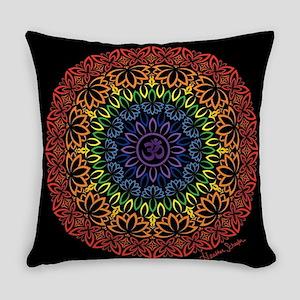 Namaste Mandala Everyday Pillow