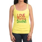 Love Peace Sushi Jr. Spaghetti Tank