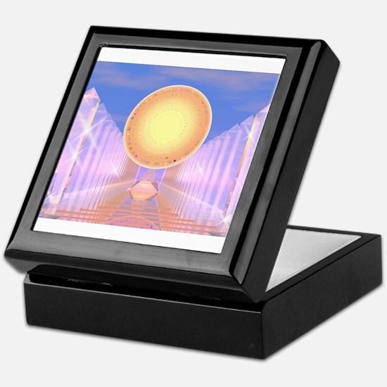 Crystal Temple Keepsake Box
